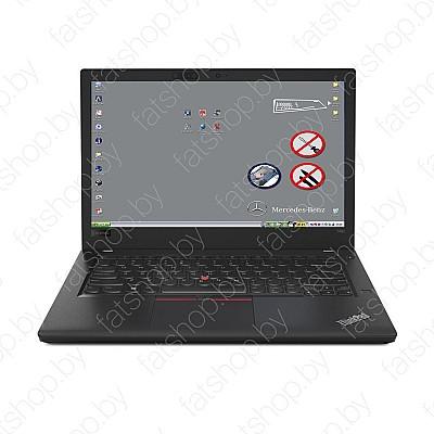 Ноутбук с установленным ПО для Mercedes STAR C3