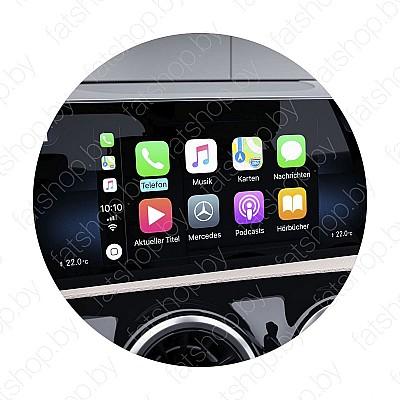 Активация Apple CarPlay в Mercedes