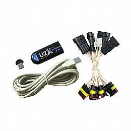 GS-U2X PRO Bluetooth диагностика ГБО + переходники